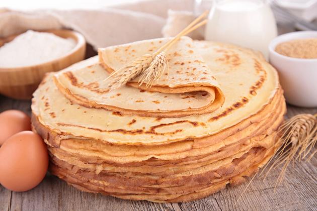 Pâte à crêpes sans sucre pour diabètiques