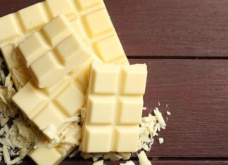 La composition du chocolat blanc