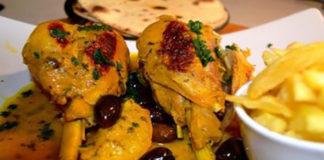 Tajine de Dinde aux olives à la Marocaine