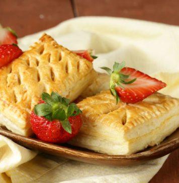 Chausson aux fraises