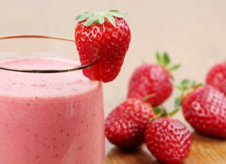 Milkshake fraise facile