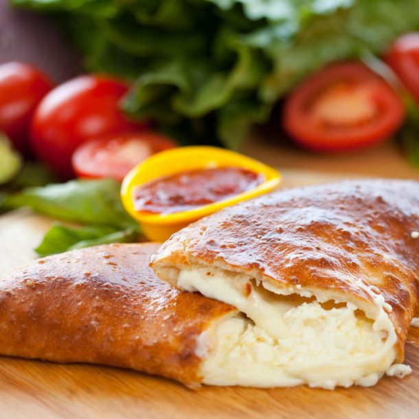 Calzone aux quatre fromages