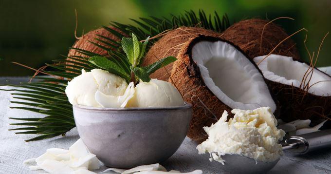 La glace à la crème de coco, l'alternative 100 % vegan à la crème glacée