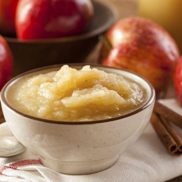 Compote de pomme express au micro-ondes
