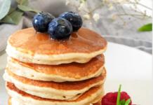 Pancake à la crème montée