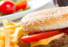 Hamburger maison de la cuisine française