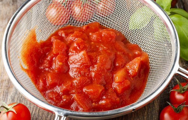 sauce tomate de la cuisine française
