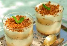 dessert rapide à la poire de la cuisine française