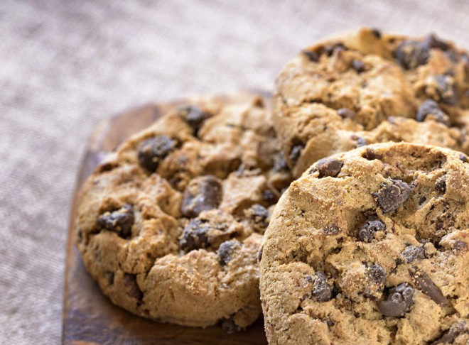 cookies au pépite chocolat de la cuisine française